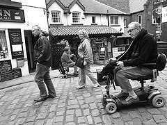 Mobility scooters in Hoylake